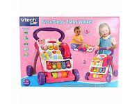 Vtech baby girl walker for sale- unused
