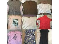 Size 12-14 women's clothing bundle