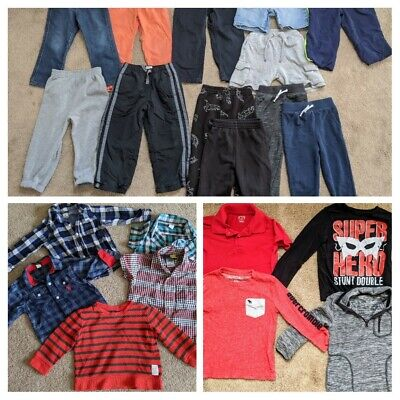 Boys Size 3T Clothes Lot Of 21~wardrobe~OshKosh Gap, Abercrombie, CP, POLO,+MORE