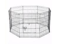 8 Sided dog/puppy pen fence