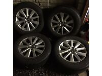 Mazda CX-5 17 inch Alloys and Tyres