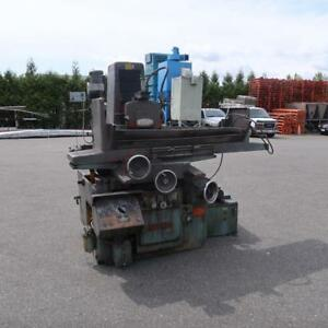 NICCO Surface Grinder w/ Magnet Table& Dust Collector