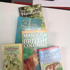 Assorted Animal and Plant Guides