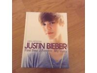 JUSTIN BIEBER First Step 2 Forever: My Story FOR £3