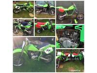 Kawasaki kx 60s wanted