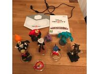 Wii game Disney Infinity characters and Portal