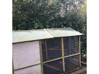 £90 Chicken / duck / cat pen coop. Only 16 months old, bought for £350. Excellent condition
