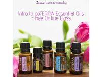 Free Online Intro to doTERRA Essential Oils Class