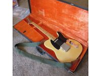 1977 Fender Telecaster in See-Thru Blonde with OHSC