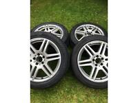 Alloy wheels Mercedes