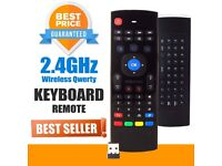 Mini Wireless Keyboard 2.4Ghz Flying Air Mouse MX3A Remote Control For Android Box TV Stick PC