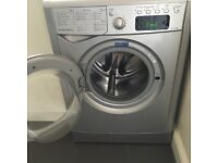 Silver Indesit washing machine FOR SALE