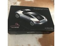 Motor Mouse 2.4G Wireless Mouse Silver