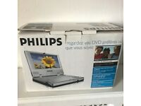 "Philips PET700 Car Portable DVD Player with 7"" Display"