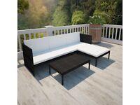 Garden Furniture Patio Sofa Outdoor Rattan Set