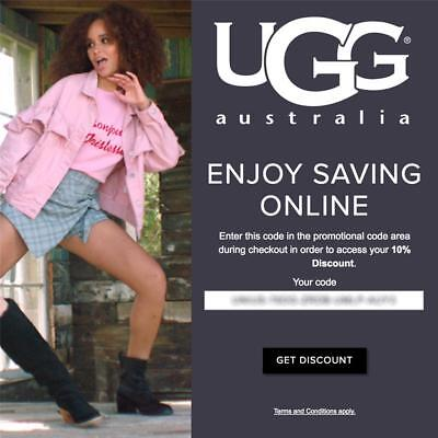 10% off UGG Australia Promo-Coupon Code Exp 4/30/19 OnIine* boots slippers