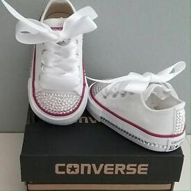Bling customised converse