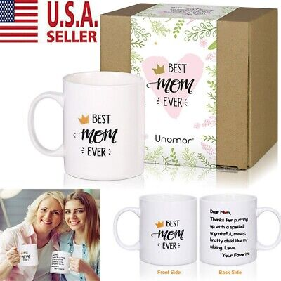 Mothers Day Gift for Mom Grandma Best Grammy Ever Gift Coffee Mug Tea Cup