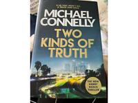 Michael connelly two kinds of truth hardback book