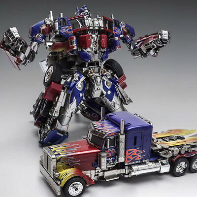 Oversized Transformers The Last Knight Optimus Prime MISB BOY GIFT masterpiece