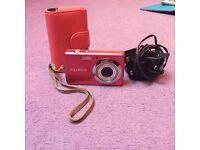 Pink Fujifilm Camera