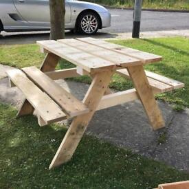 Children's picnic tables