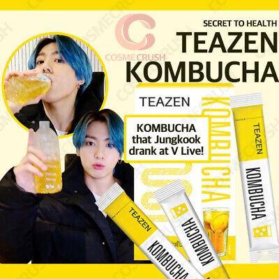 TEAZEN Kombucha Lemon Powder Stick 5g X 30T BTS Jeon Jung Kook Made in korea NEW