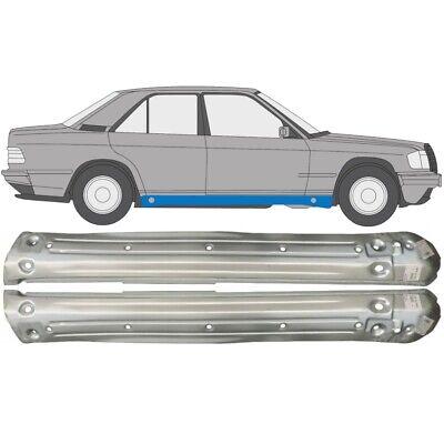 Mercedes 190 W201 1982-1993 Voll Schweller Reparaturblech / Paar