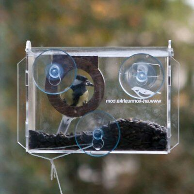 Camera Window Bird Feeder