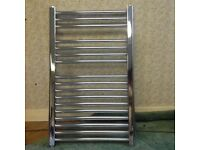 Electric Towel Rail. Almost new (too small for shower room). Perfect condition