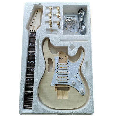 Kit de guitarra eléctrica de bricolaje premium - Kit de guitarra de...