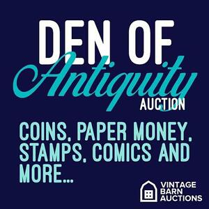 ONLINE AUCTION! coins, comics, paper money, bank notes, rare finds, collectibles