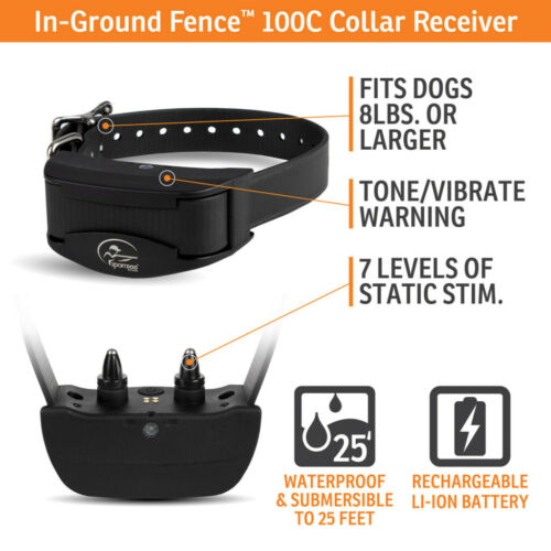 SportDOG SDF-100C Dog Rechargeable In-Ground Fence