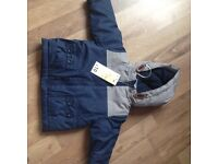 NEW WITH TAGS 3/6 MONTH COAT
