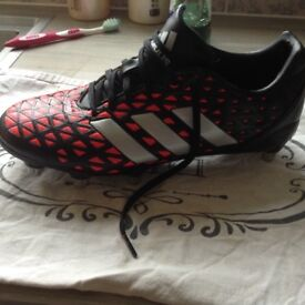 Adidas rugby boots worn twice, size 8.5 (mens) immaculate, bought for £85