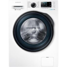 New Samsung Ecobubble WW90J6410CW 9Kg Washing Machine with 1400 rpm - White RRP £569