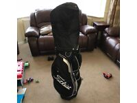 Titleist Cart Bag. Immaculate condition