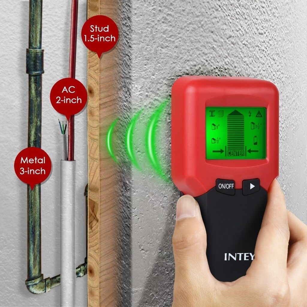 Intey Stud Finder For Walls Electric Stud Detector 3 In 1