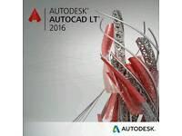 AutoCad LT 2016 Full Version 32bit&64bit Brand New