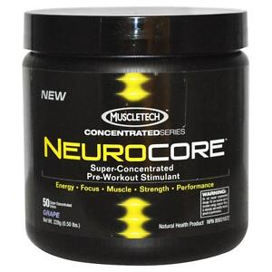 PRE-WORKOUT MuscleTech NEUROCORE, 50 Servings STRENGTH! ENERGY! FOCUS!