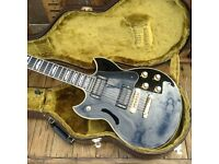 Yamaha SG-2000 Custom Shop re-issue (vintage black, 2000s, mint, as new)
