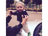 Julius - 8 months, lives Angel - is looking for a nanny
