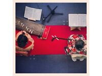 Japanese traditional music of Shamisen and Koto with Japanese Tea Ceremony.