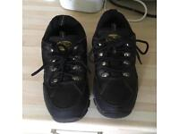 Rugged Outback Steel Toe Cap Boots Size 4