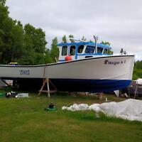 45 Dugay lobster boat