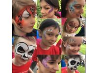 Paint&Glitter by Lizzie - Face Painter- Glitter Tattoos-Festival Glitter-Face Painting