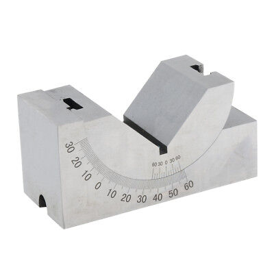 Adjustable Precision 0-60 Degree Angle Block Hss With Wrench Metalworking