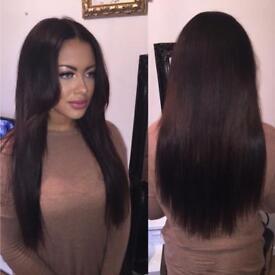 LUXURY HAIR EXTENSIONS-MICRORINGS,NANORINGS,KERATIN FUSION BONDS,MICRORING WEFT,TAPE HAIR, SHRINKIES
