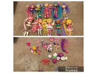 Betty Spaghetty Dolls and accessories