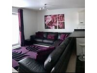 Instyle Black Leather Corner Sofa